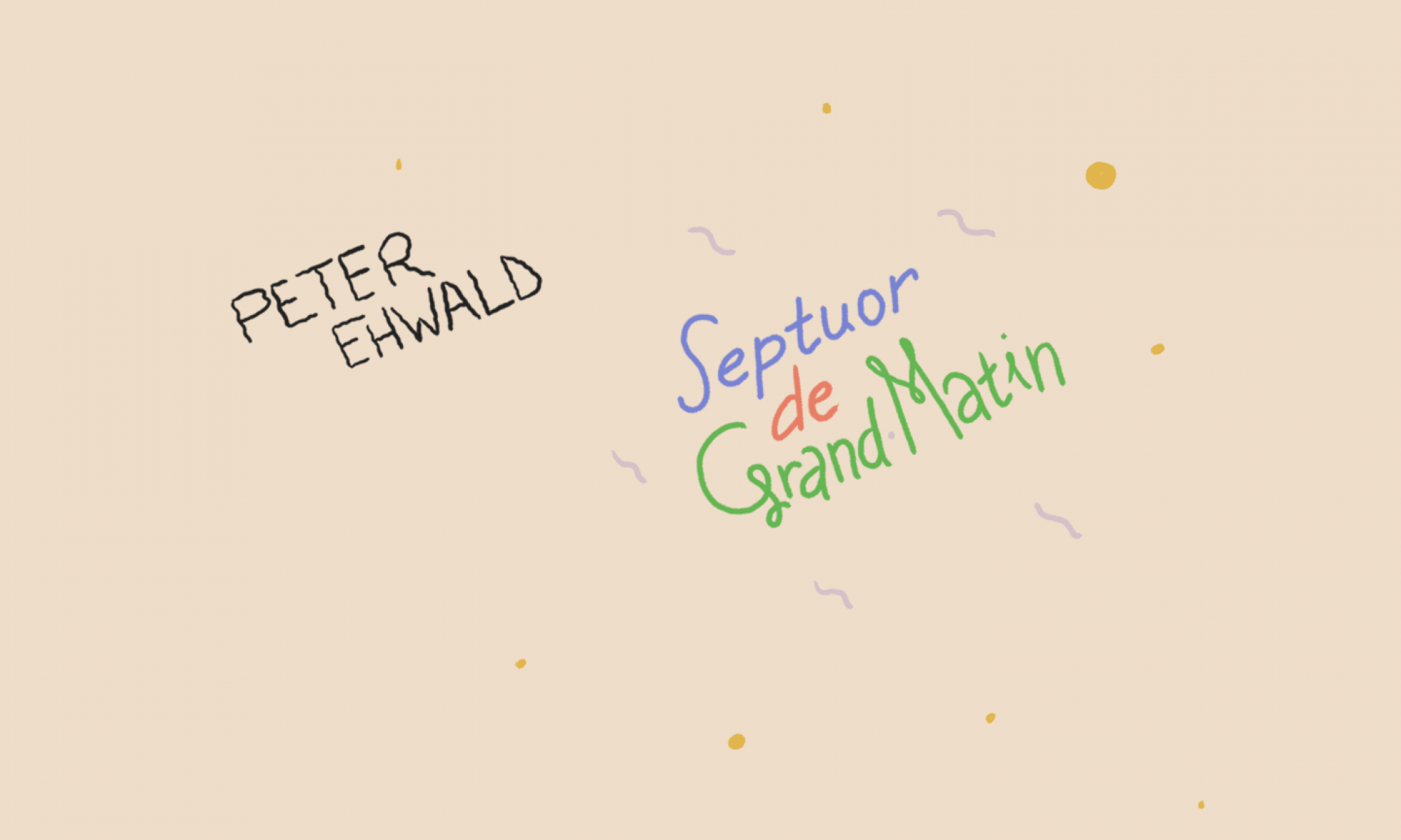 Peter Ehwald- Le Septuor de Grand Matin